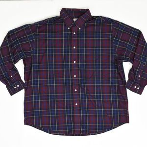 Brook Brothers Big & Tall XXL Red   Button Down Co